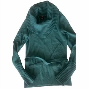 It's Our Time M Teal Sweater